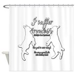 Funny Goat - Suffer from MGS Shower Curtain