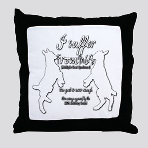 Funny Goat - Suffer from MGS Throw Pillow