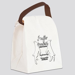 Funny Goat - Suffer from MGS Canvas Lunch Bag