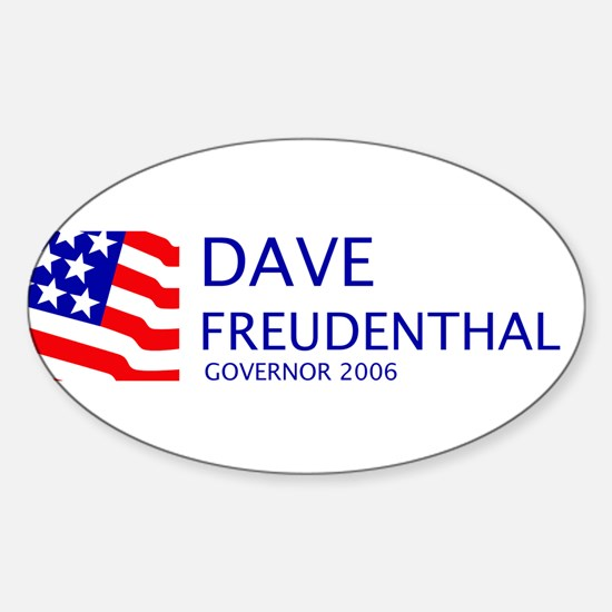 Freudenthal 06 Oval Decal