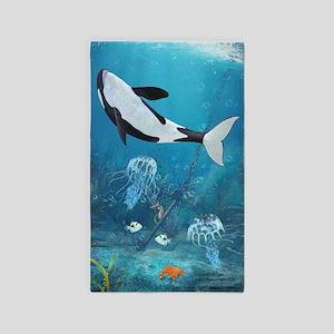 Orca II 3'x5' Area Rug