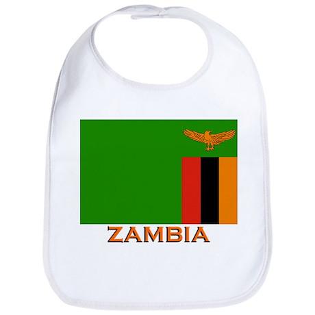 Zambia Flag Stuff Bib