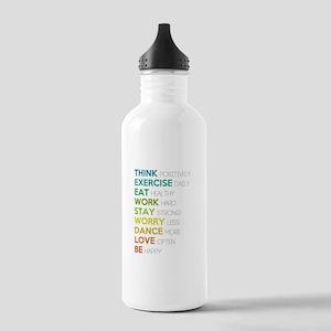 Eat, dance, love Stainless Water Bottle 1.0L