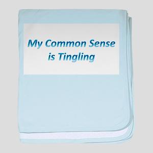 Common Sense baby blanket