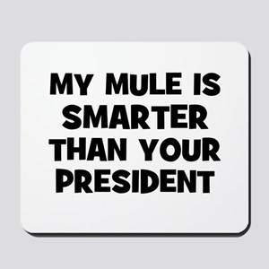 My Mule Is Smarter Than Your  Mousepad