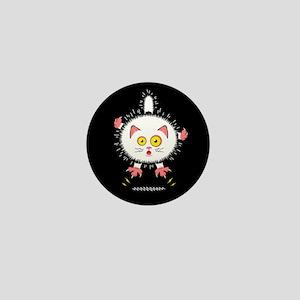 staticcat_black_mag Mini Button