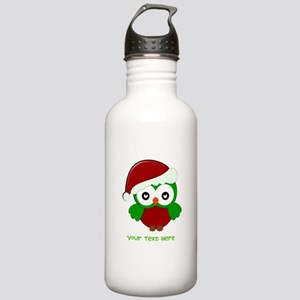 Christmas Owl Stainless Water Bottle 1.0L