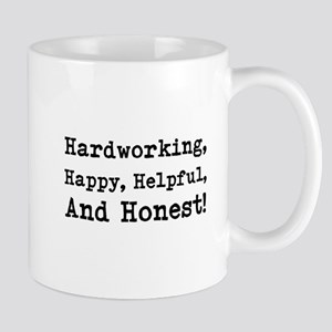 Hardworking, Slogan. Mug