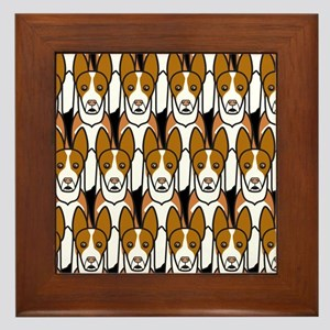 Ibizan Hounds Framed Tile