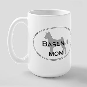 Basenji MOM Large Mug