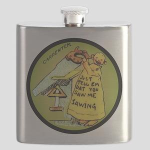 Carpenter Kid Flask