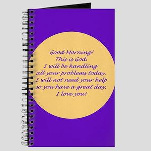 Good Morning from God Journal