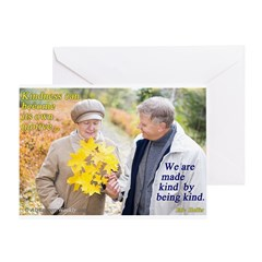 Made Kind by Being Kind Greeting Card