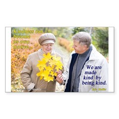 Made Kind by Being Kind Sticker (Rectangle 10 pk)