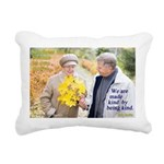Made Kind by Being Kind Rectangular Canvas Pillow