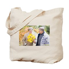 Made Kind by Being Kind Tote Bag