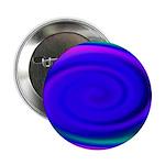 Abstract Blue Swirl Pattern 2.25