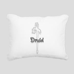 Druid Logo Rectangular Canvas Pillow