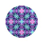Turquoise Purple Fractal Pattern 3.5