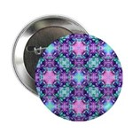 Turquoise Purple Fractal Pattern 2.25