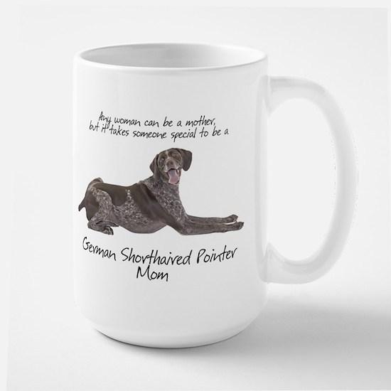 Pointer Mom Large Mug
