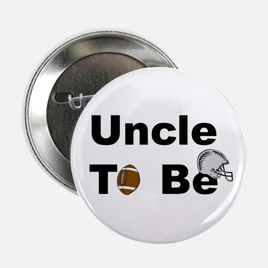 Football Uncle To Be Button