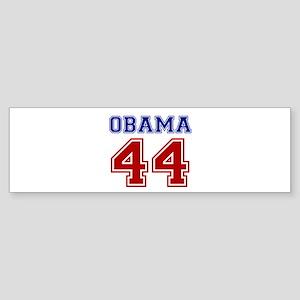 Obama 44 Sticker (Bumper)