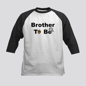 Football Brother To Be Kids Baseball Jersey