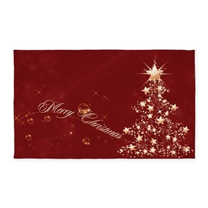 christmas area rugs cafepress