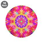 Pink Fractal Mandala 3.5