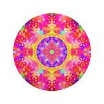 Pink Fractal Art Mandala Pattern 3.5