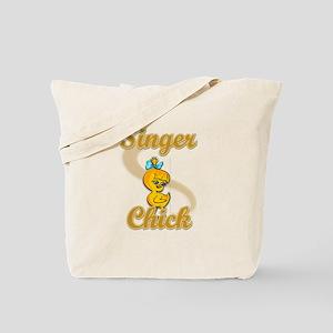 Singer Chick #2 Tote Bag