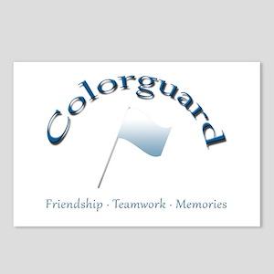 Colorguard: Friendship Teamwork Memories Postcards