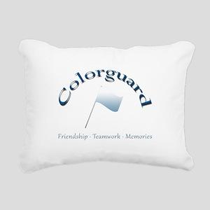 Colorguard: Friendship Teamwork Memories Rectangul