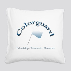 Colorguard: Friendship Teamwork Memories Square Ca
