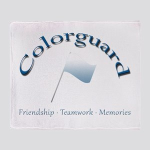 Colorguard: Friendship Teamwork Memories Stadium