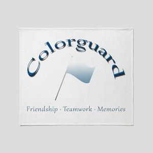Colorguard: Friendship Teamwork Memories Stadium