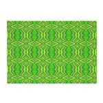 Retro Lime Green Pattern 5'x7'Area Rug