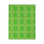 Retro Lime Green Pattern Twin Duvet