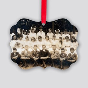 School Days Picture Ornament