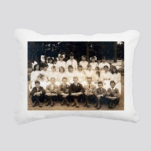 School Days Rectangular Canvas Pillow