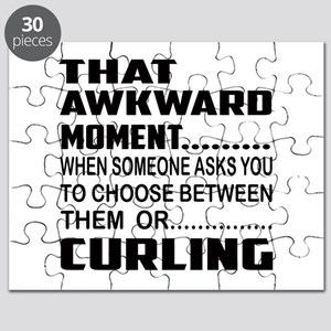 That Awkward Moment... Curling Puzzle