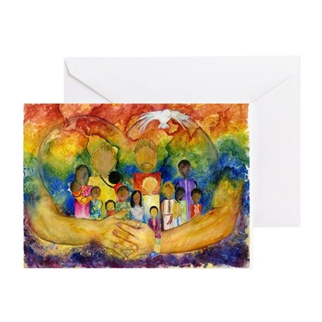 WRAPPED XMAS CARDS Greeting Cards (Pk Of