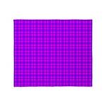 Purple and Pink Checkered Gingham Pattern Stadium