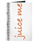 Juice Me Journal