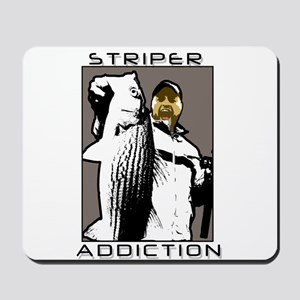 STRIPER ADDICTION! Mousepad