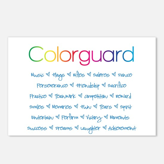 Colorguard Postcards (Package of 8)