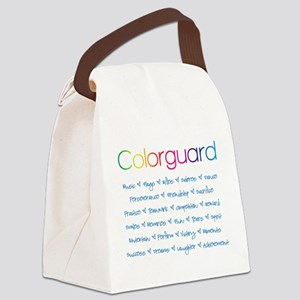 Colorguard Canvas Lunch Bag