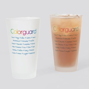 Colorguard Drinking Glass