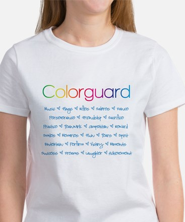 Colorguard Women's T-Shirt